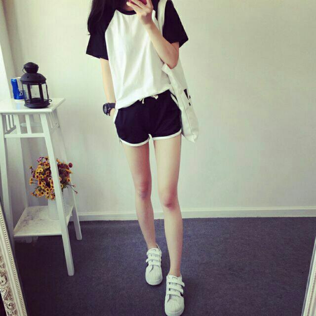 韓國 運動 套裝 衣+褲