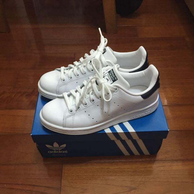 adidas Stan smith 深藍23.5 正版