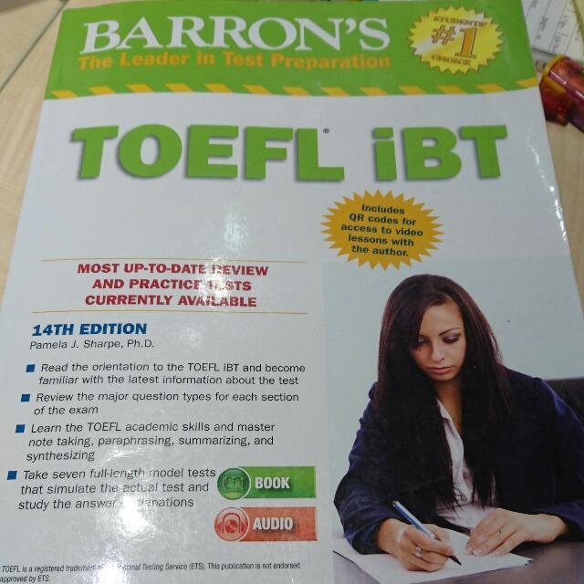托福用書 Barron's TOEFL IBT