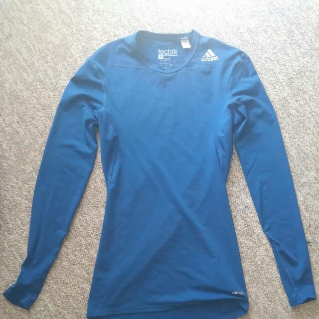 Addidas Techfit Compression Shirt