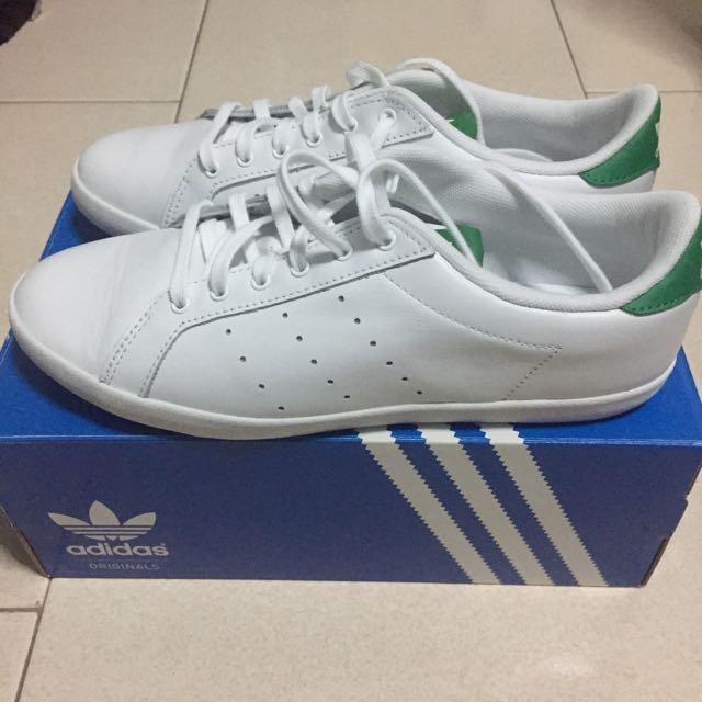 timeless design 05c1e 8bfda Adidas Miss Stan Smith Shoes White/Green Shoes, Women's ...
