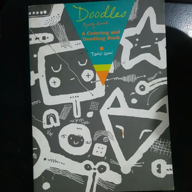 Coloring And Doodling Book