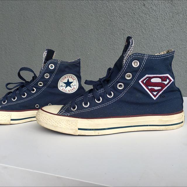8c91d6072003c AUTHENTIC - Converse Chuck Taylor All Star x Superman DC Comic ...