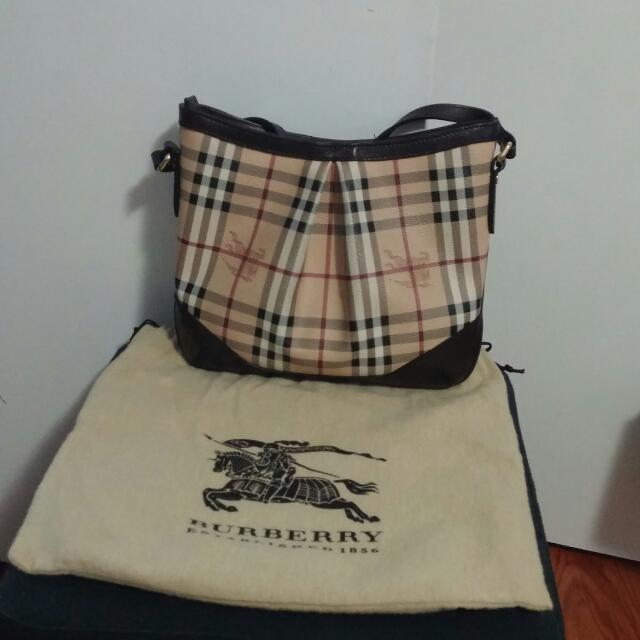Authentic Burberry Crossbody Bag