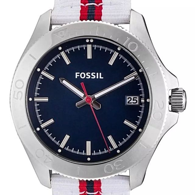 Authentic Fossil Traveler Watch