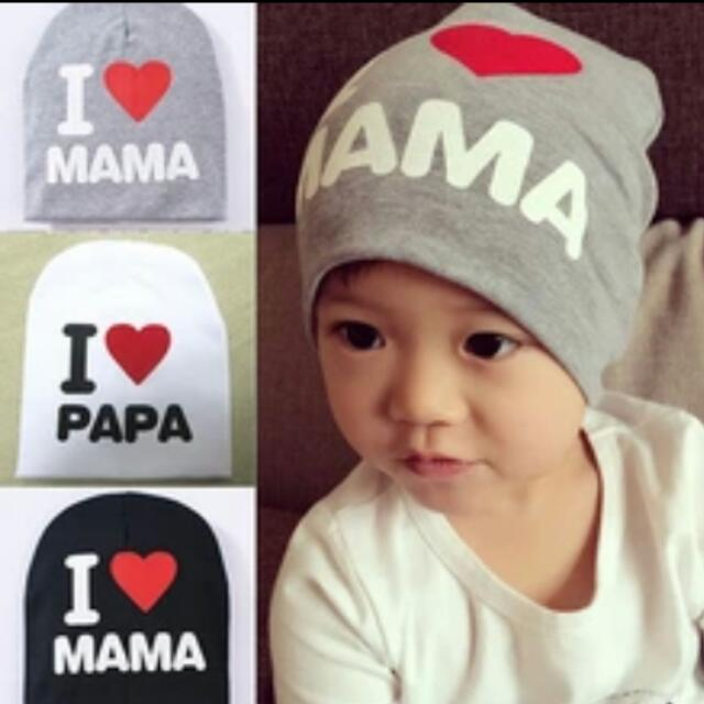 9733c1663 Baby Infant Kid Boy Girl Love Heart Soft Warm Hat Knitted Caps Cotton  Beanie For Children