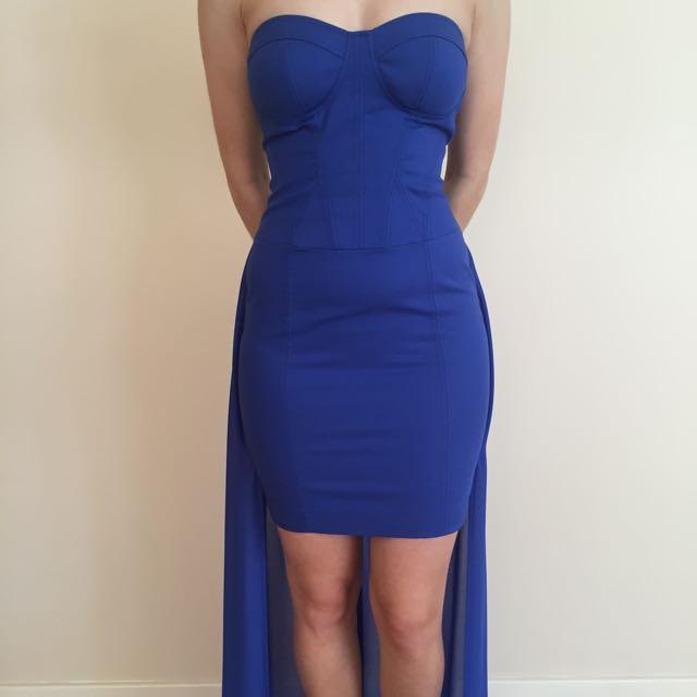 Bardot Blue Dress