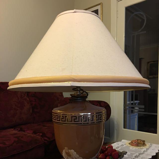 Big Vintage Look Lamp