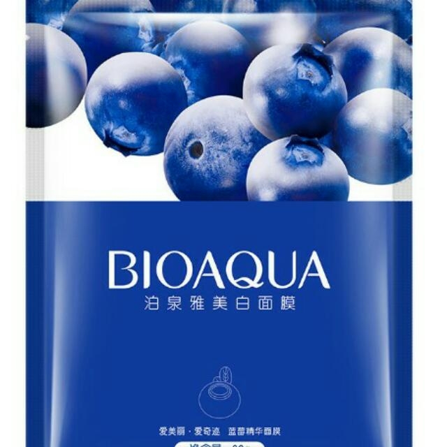 BIOAQUA BLUEBERRY BQY3529 FACIAL SHEET MASK