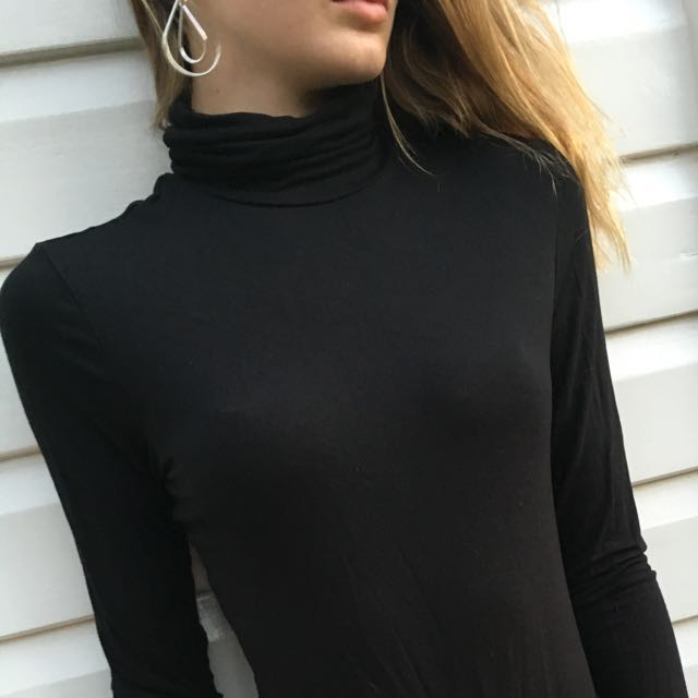 Black Turtle Neck
