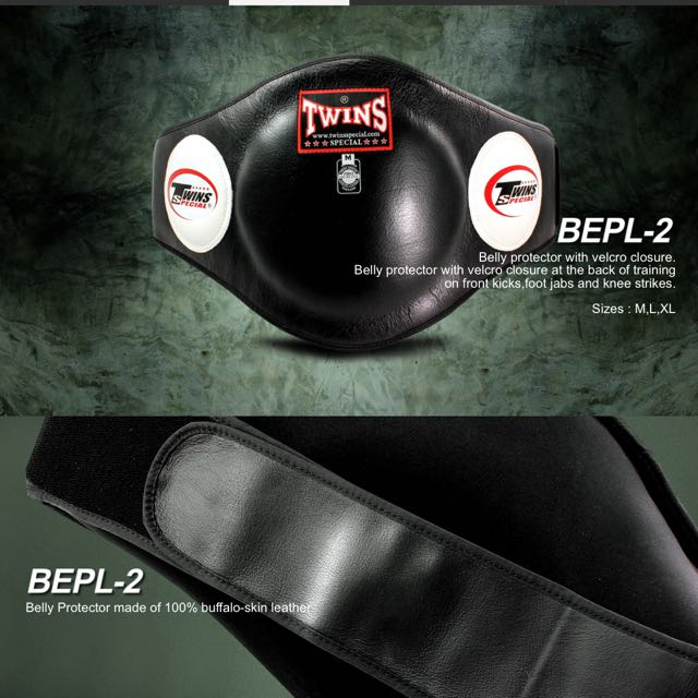 BNIP Twins Special Belly Pad BEPL-2 M Size ( Black )