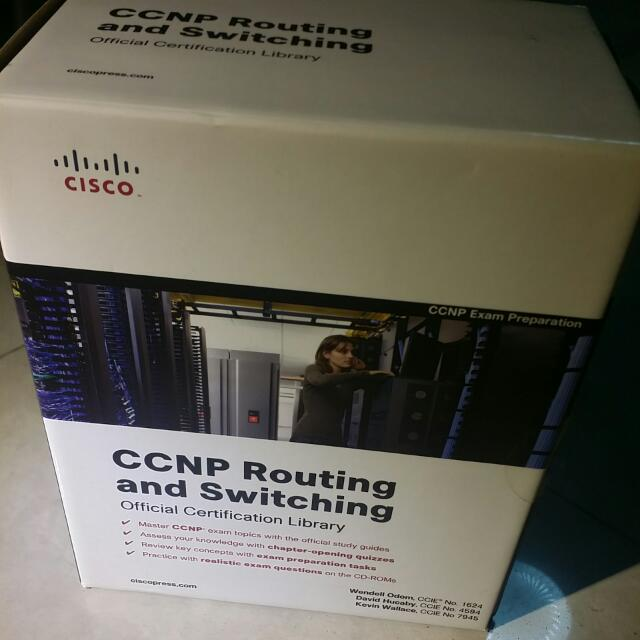 CCNP Routing and Switching, Books & Stationery, Fiction on Carousell