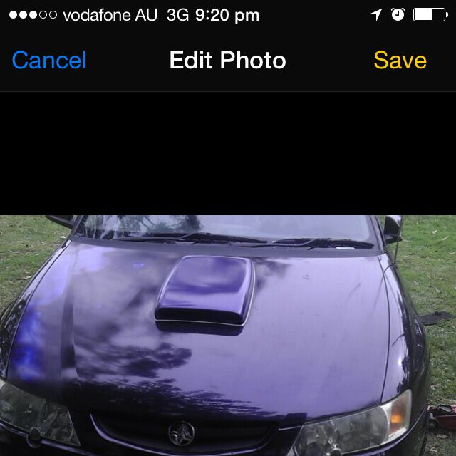 Commodore Bonnet Scoop