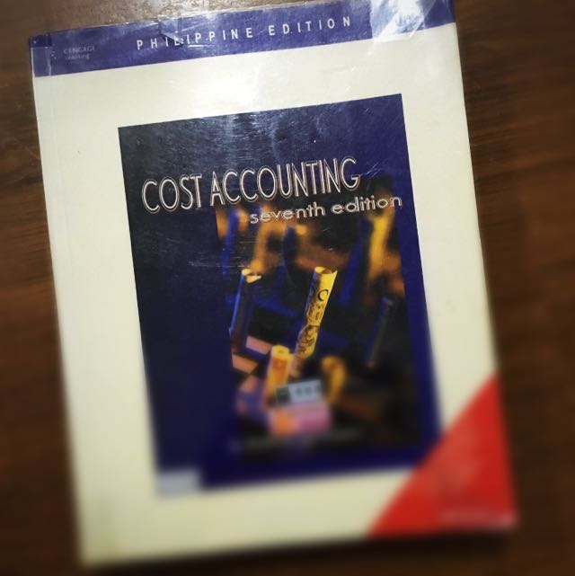 Cost Accounting By Raiborn And Kimmel