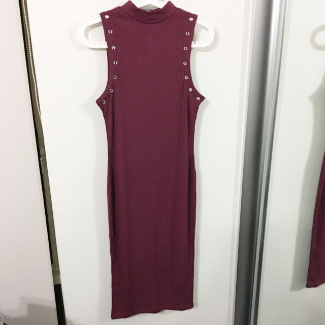 Cotton On - Size S Wine Dress
