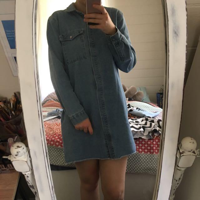 COTTONON shirt Dress Denim