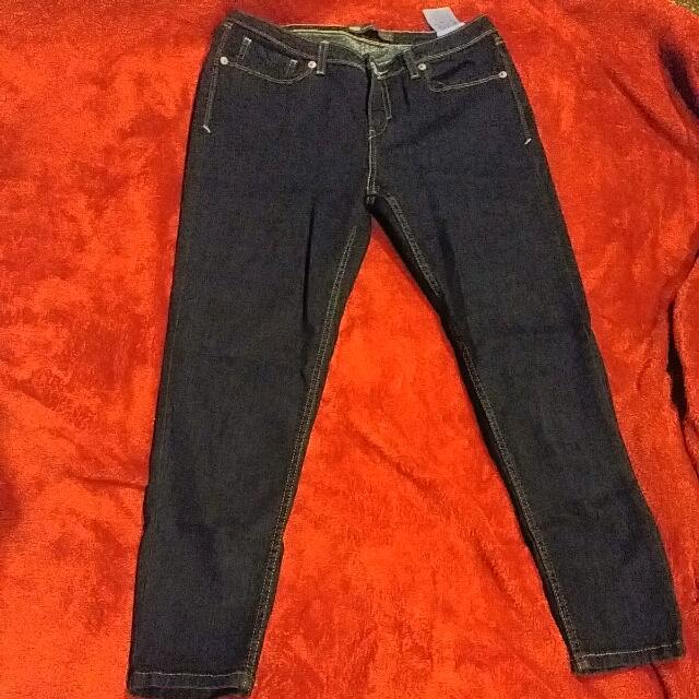 Dark Blue Levi's Jeans Size 27