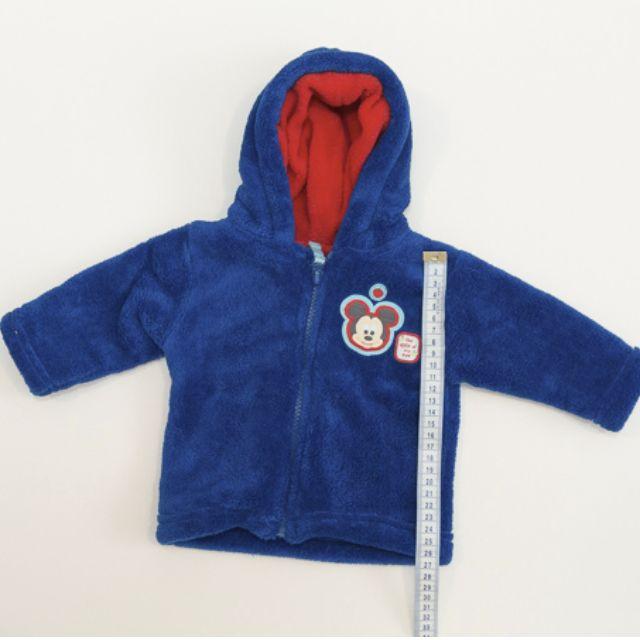 Disney - Micker fleece hooded zip-through Size 000