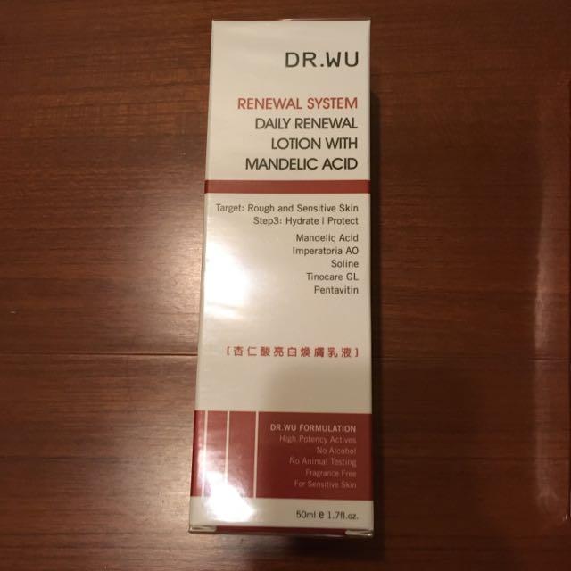 Dr.wu 杏仁酸亮白煥膚乳液