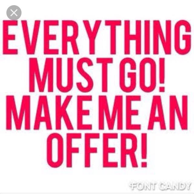 Everything Must Go Make Me An Offer