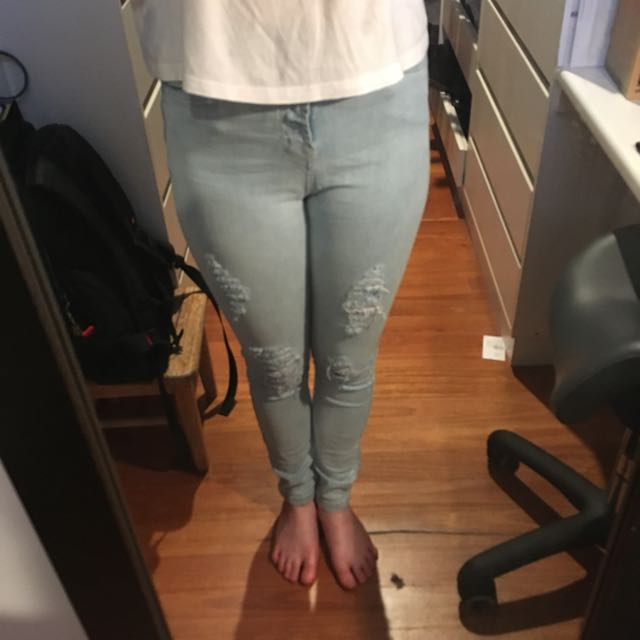 factorie super high-wasted jeans