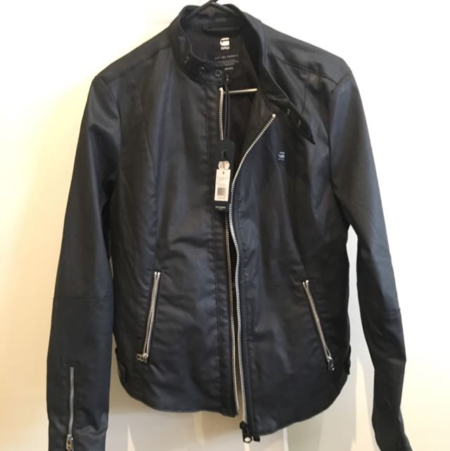 G- STAR RAW Black Jacket Brand New With Tags