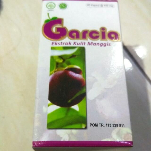 Garcia Ekstrak Kulit Manggis Isi 70%