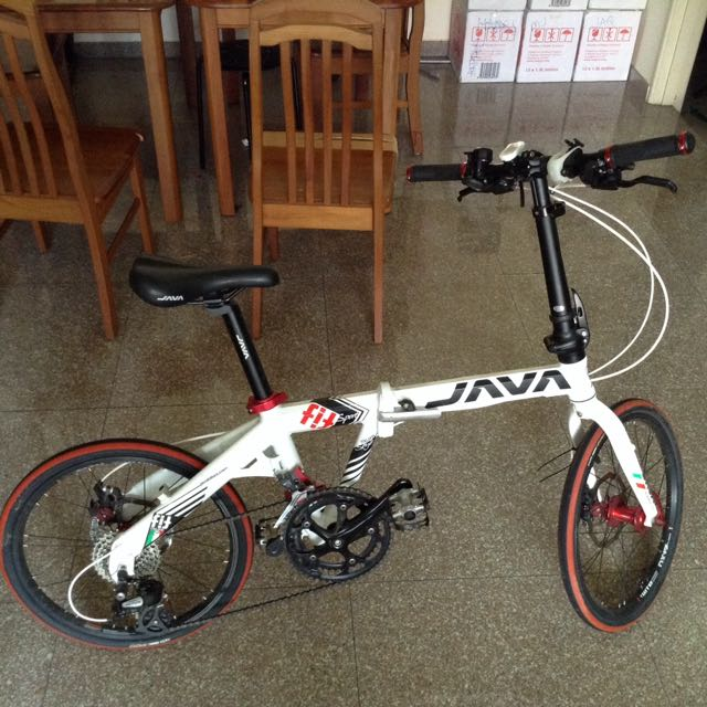 Java Fit Folding Bike