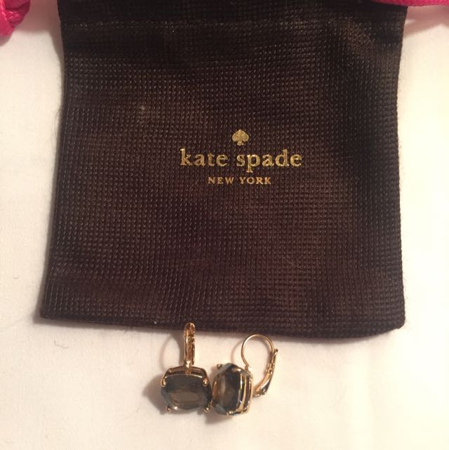 Kate Spade Authentic Clasp Earrings