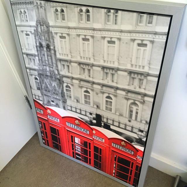 London Art Work frame