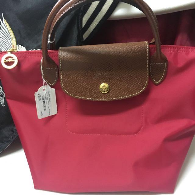Longchamp 小包 紅色 全新吊牌還在