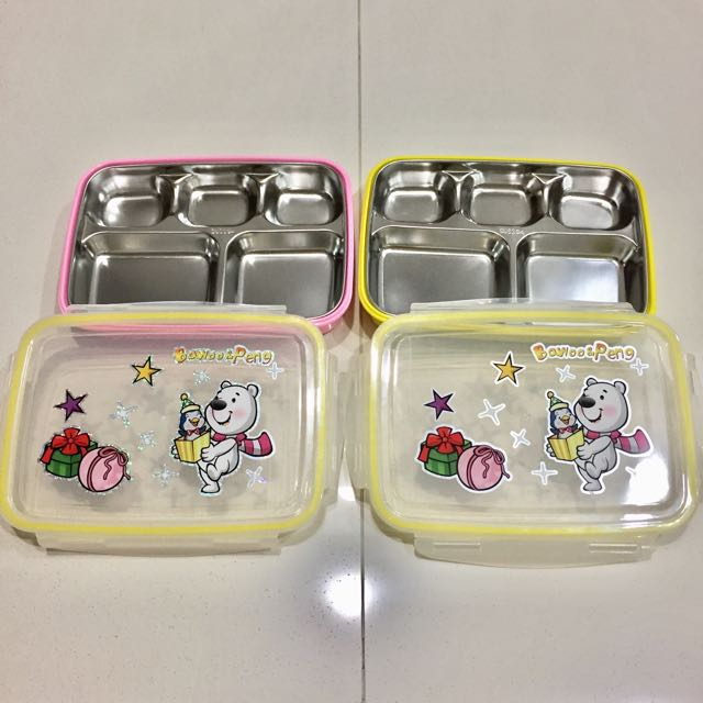Lunch Box Stainless Steel Karakter Lucu