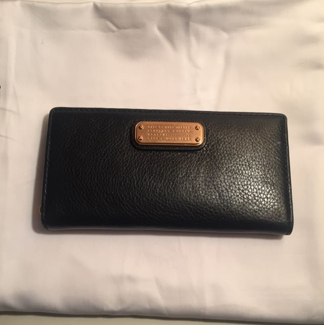 Marc By Marc Jacobs Authentic Black Leather Wallet