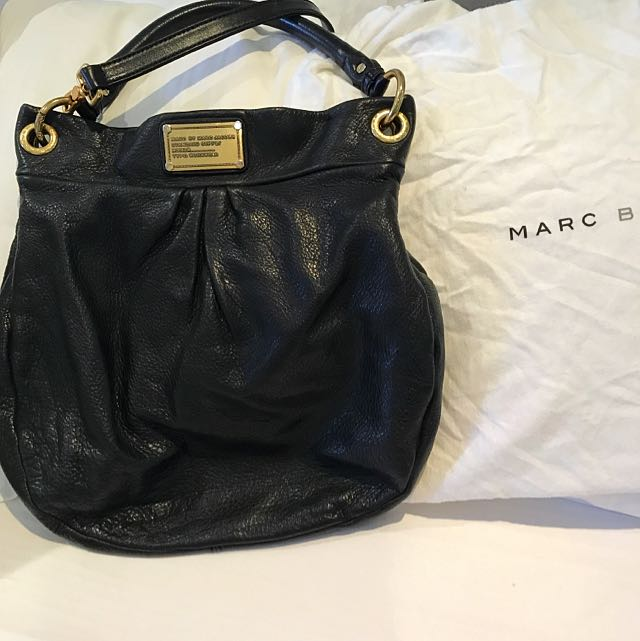 Marc By Marc Jacobs Black Hobo Bag (authentic)
