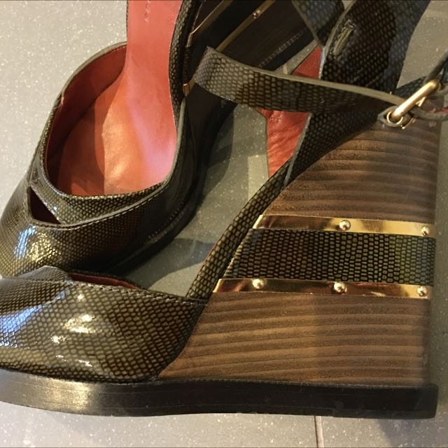 Marc By Marc Jacobs Retro Wedges