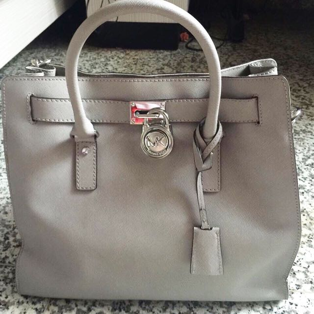 Michael Kors Hamilton Leather Bag