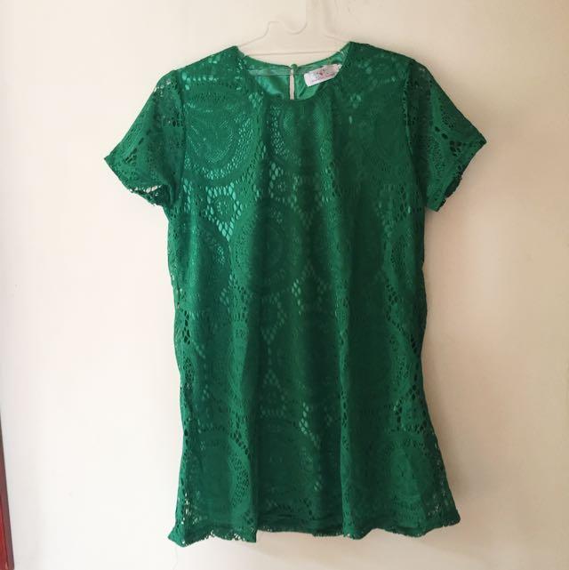 Mini Dress Embroidery
