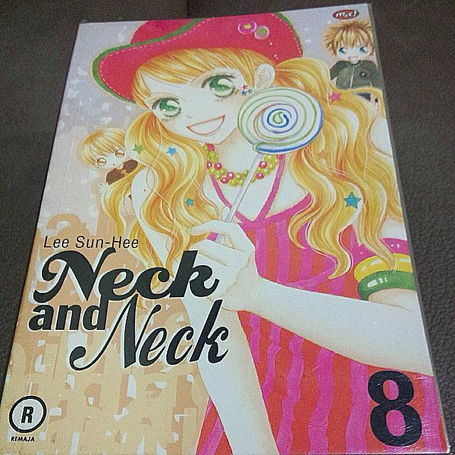 Neck and Neck Manhwa (Korea) Vol 1-8 END