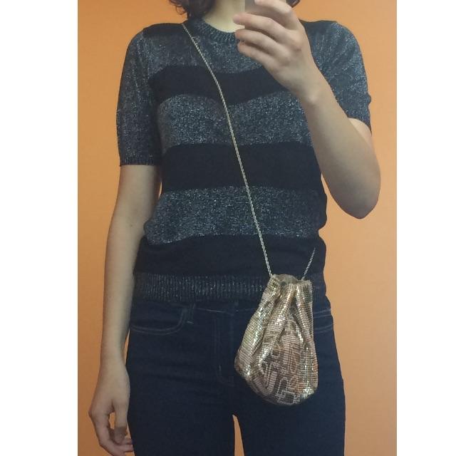 Oroton chainmail bag