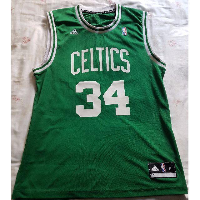 22b2a071bd7 Paul Pierce Jersey Repica 34 Boston Celtics GREEN WHITE, Sports ...