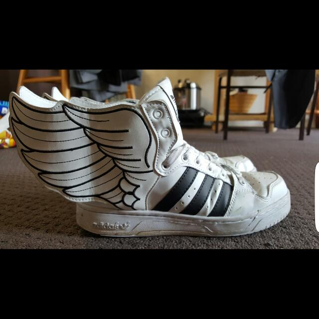 Unisex Perfect Condition Adidas Jeremy Scott Wings 2.0