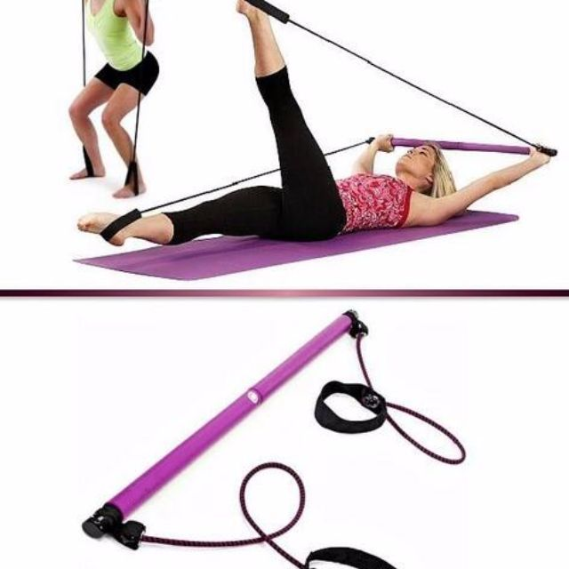 Pilates portable studio tali olahraga senam gym alat fitness, Sports, Other Sports Equipment on Carousell
