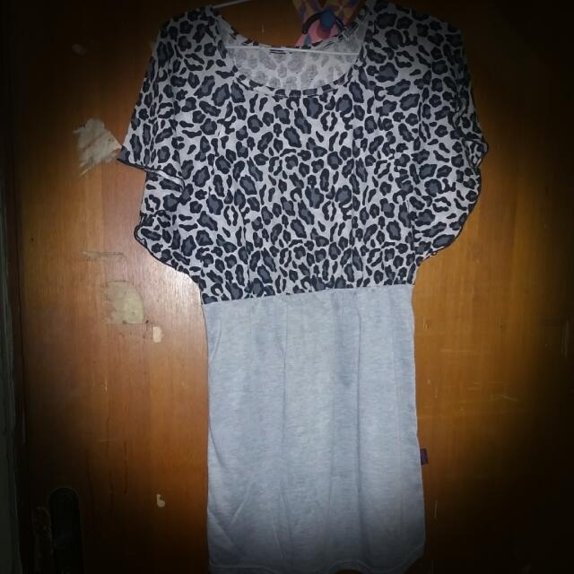 Preloved Leopard Dress