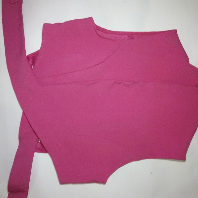 Preloved Pink Korean Blazer