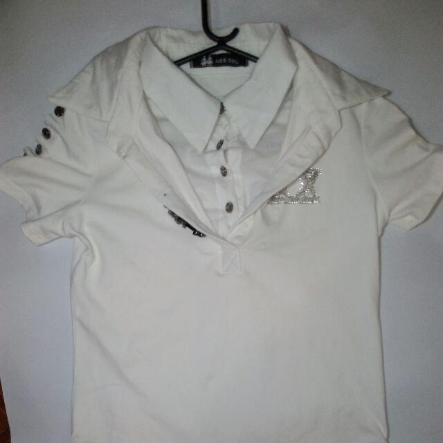 Pre-loved white blouse