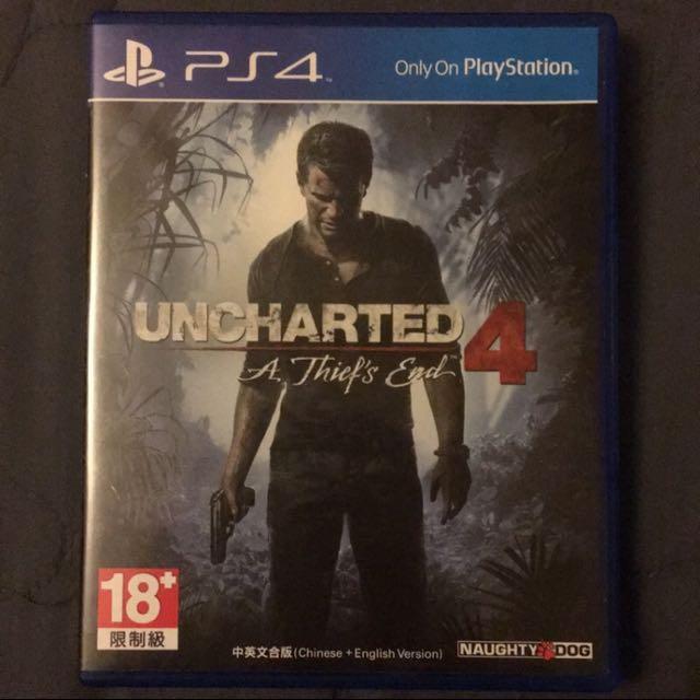 PS4 秘境探險4:盜賊末路 (中文版)含光碟