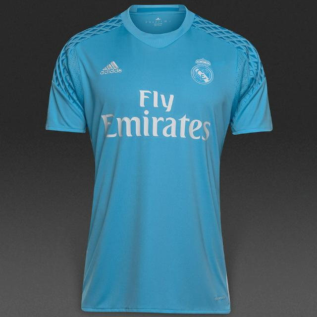 low priced 38568 54926 Real Madrid Goalkeeper Home Jersey (2016/2017 Season)