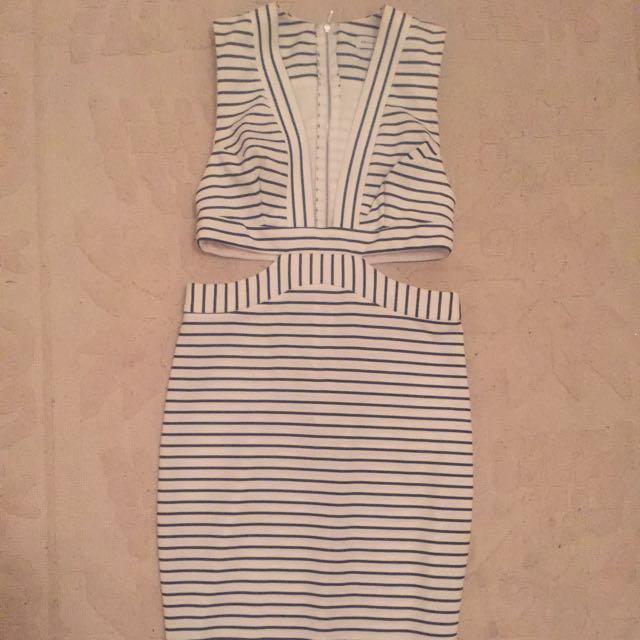 Sexy Bec & Bridge Cut Out Dress Size 8