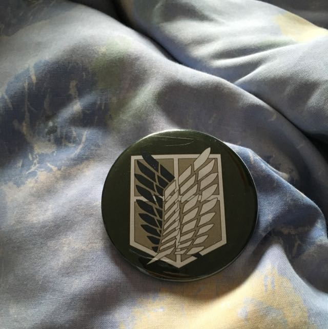 survey corps badge/pin