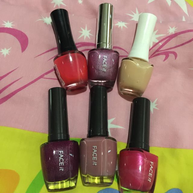 The Face Shop Assorted Nail Polish